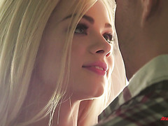 Super damn hot stepsis Elsa Jean commits a sin with a stepbrother