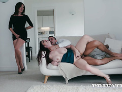 Luscious Lucia Love gets butt fucked by friend's hot boyfriend
