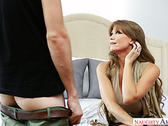 Impressed with the size of his cock 50 y.o. Darla Crane lets him smash