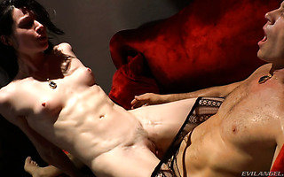 Filthy Lea Lexis is having a nasty fuck with notorious Rocco Siffredi