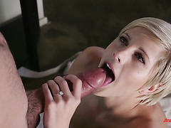 Makenna Blue seduces her helping neighbor while hubby is on business trip