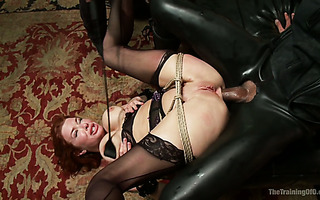 Brutal mandingo excavates asshole of obedient MILF Veronica Avluv pile driver style
