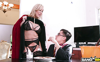 Young Kenzie Reeves shares her Harry Potter boy with stepmom Brandi Love
