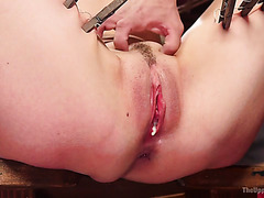 Rough BDSM 3way with skank Lilith Luxe and babe Dani Daniels