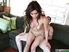 Hardcore sex with creampie happy end for stacked Latina girl Blair Summers