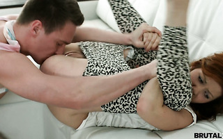 Russian girlfriend Brenda is punish fucked for being bitchy