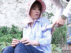 Japanese fisherman's wife is seduced by skilled pickup master