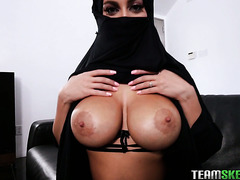 Arab whore wife Victoria June is fucked in POV