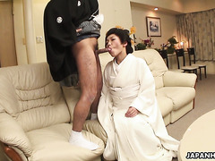 Whore wife Yui Ayana is gangfucked by cuckold's friendship