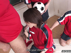 FIFA Japanese football team gangbang Yu Shiraishi in locker room