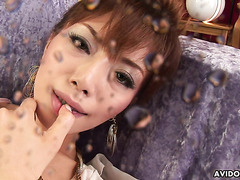 Shiofuki queen Akane Hotaru reaches insane squirting orgasms