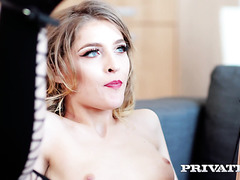 Rhiannon Ryder services gentleman with her tight UK pussy