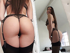 Clea Gaultier is fucked in her perfect French ass very hard