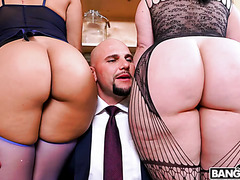 Virgo Peridot and Valentina Jewels jiggle their Latina booties in FFM