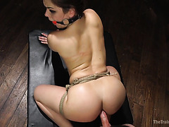 Kimber Woods gets her big round ass punish fucked doggystyle