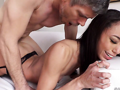 Alexis Tae's intense orgasms - Latina pussy is fucked extra hard