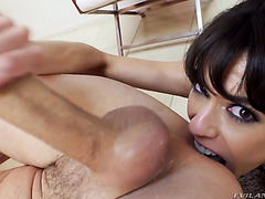 MILF Lexi Foxy's anal and vaginal pounding