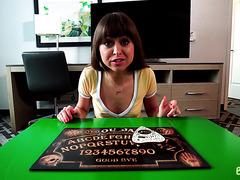 Ouija orders sister Riley Reid to fuck stepbro POV