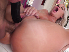 London River is rammed in her phat mature booty mercilessly