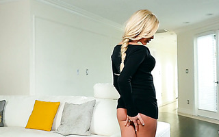 Fantastic solo with magnificent blonde Kathrynn St Croixx