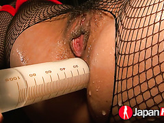 Jap pervs push Yuu Haruka through dozen of hardcore orgasms
