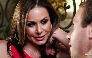 Lustful stepmom Kendra Lust satisfies stepson's secret desires