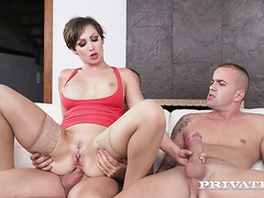 Assistant joins his boss MILF Yasmin Scott and her husband